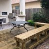 January 2013 – Small Outdoor Kitchen & Beautiful Wood Deck!