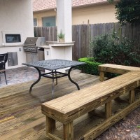 Houston Outdoor Living Spaces –  Small Kitchen On Deck!