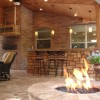 Outdoor designs contest: Bar/fire pit winning!