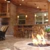 Outdoor designs contest: Bar/fire pit winning!