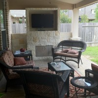 Houston Patio Design – Watching Football On TV