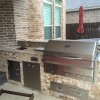 Patio Kitchen Plans: High Tech Meets Rustic Style In Houston