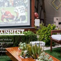 Outdoor TV Gets Your Patio Ready For Football, Fall Entertaining