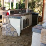 Outdoor Living Space Kitchen