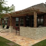 Outdoor Kitchen and Arbor
