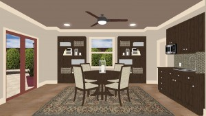 Dining Room Interiour Design Remodel