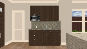 Kitchen Interior Design Remodel Rendering