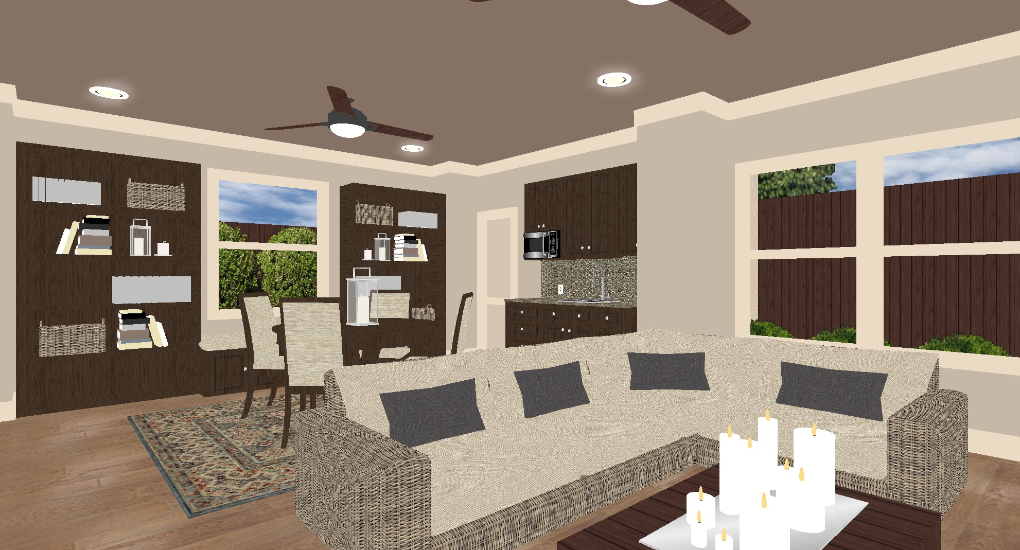 3d design examples outdoor homescapes of houston for Grand designs 3d renovation interior