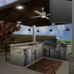 Outdoor Covered Kitchen Imaging