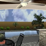 Pool and Covered Patio Design