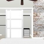 Bedroom Closet Remodeling Rendering