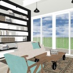 interior design remodel rendering