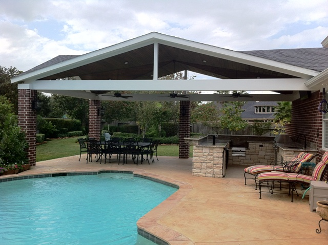 Custom Outdoor Kitchens Houston Texas by Outdoor Homescapes