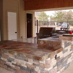 Custom Outdoor Counter tops