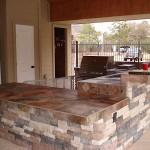 Custom Outdoor Counter tops