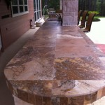 Patio Tile Bar Counter Tops
