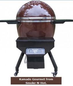 Kamado Smoke-n-Hot Grill