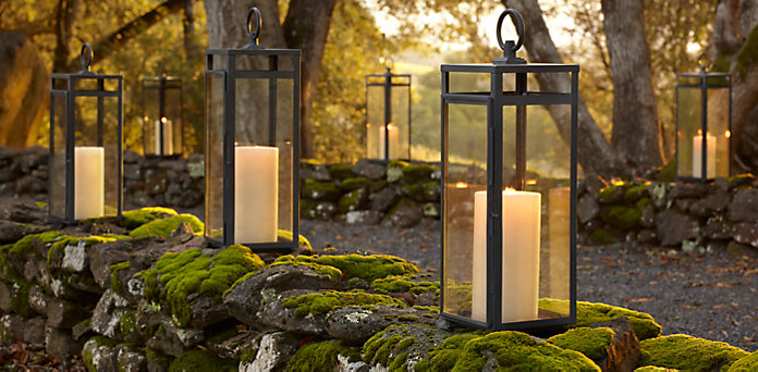 These Santorini Lanterns from Restoration Hardware are part of the new line of luxury outdoor furniture and upscale outdoor lighting being offered by Outdoor Homescapes of Houston. The outdoor designer is partnering with Senior Designer Lisha Maxey to expand this part of their outdoor design business. More at www.outdoorhomescapes.com/blog.