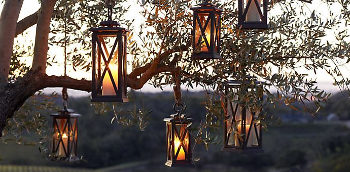 screenshot avignon cast iron lanterns restoration hardware
