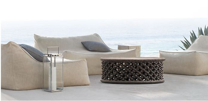 Houston outdoor living spaces can have their straight, hard masculine lines softened with outdoor furniture collections offering curves. This is suggested in a blog post by Outdoor Homescapes at www.outdoorhomescapes.com