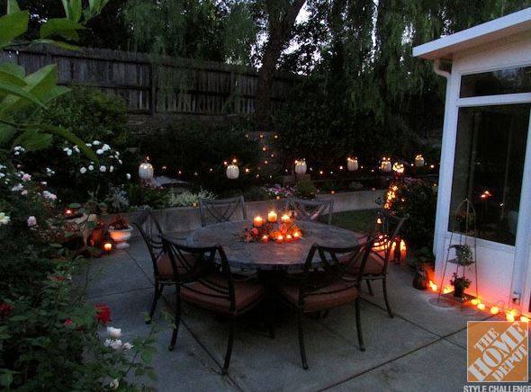 This is one of the Halloween patio decorating ideas for 2014 shared by Outdoor Homescapes of Houston on its blog. This design is from The Home Depot's 2013 Halloween Style Challenge. More at www.outdoorhomescapes.com