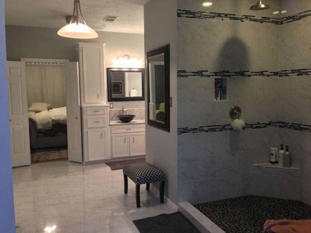 Shower Remodel Houston Houston Bathroom Remodel Is An En Suite Success