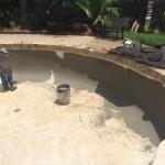 Replacing concrete mortar ...