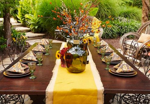 Part of blog post by Outdoor Homescapes of Houston on making Thanksgiving part of outdoor living in 2015. More at www.outdoorhomescapes.com/blog
