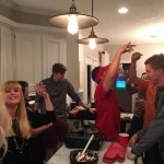 Guys celebrate bake-off win