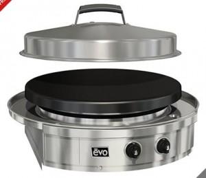 evo circular cooktop bbq grill