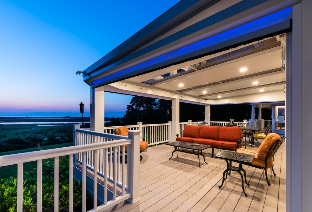 Retractable patio screens outdoor living space design for Retractable screen porch systems