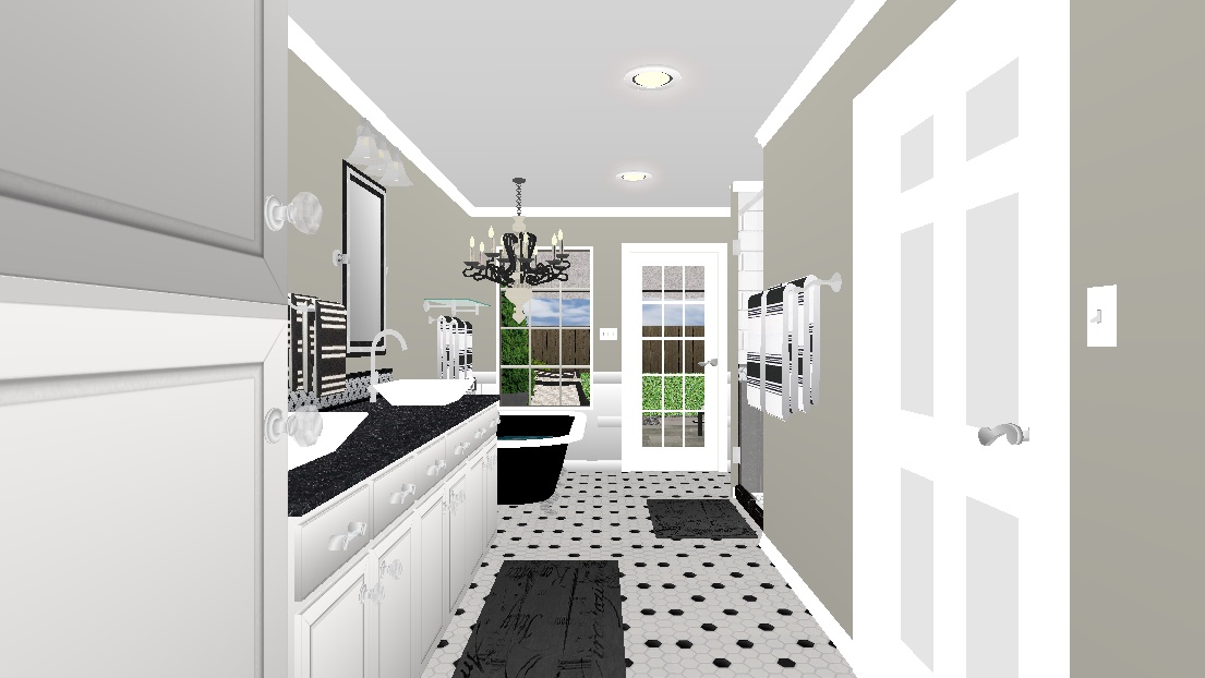 bathroom remodeling rendering