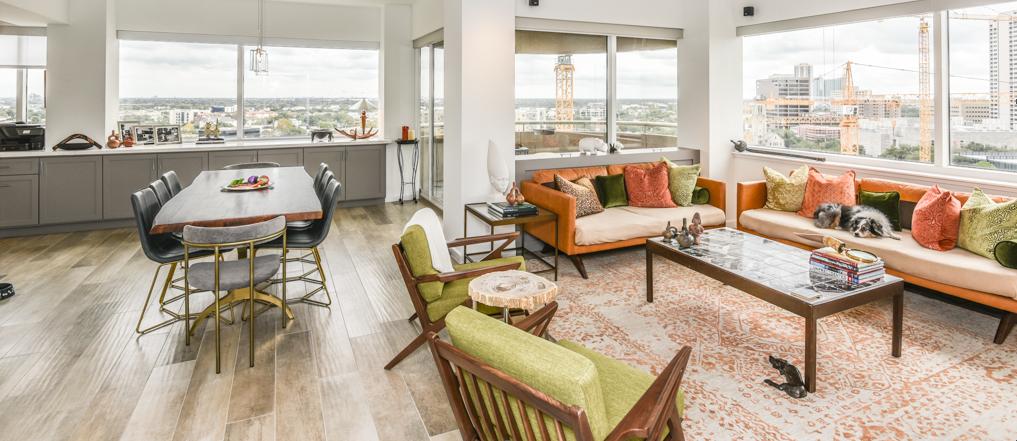 cabinet living room design