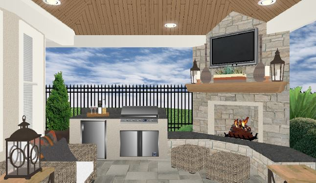 Outdoor Living Design Services in Houston