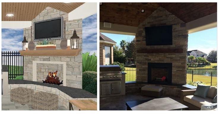 Houston Outdoor Living Design Services